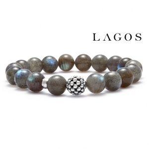 Lagos Maya Labradorite Bead Bracelet